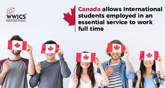 Canada International students