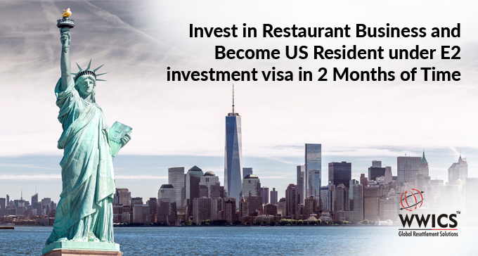 Invest In Restaurant Business and Become US Resident